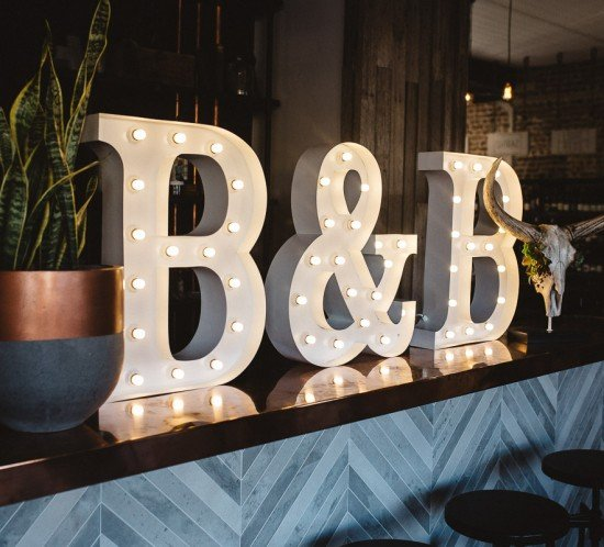 Make your mark with Love Light Letters