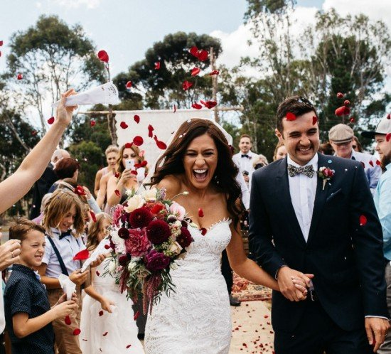 Real Wedding – Julie & Stewart, Curlewis VIC