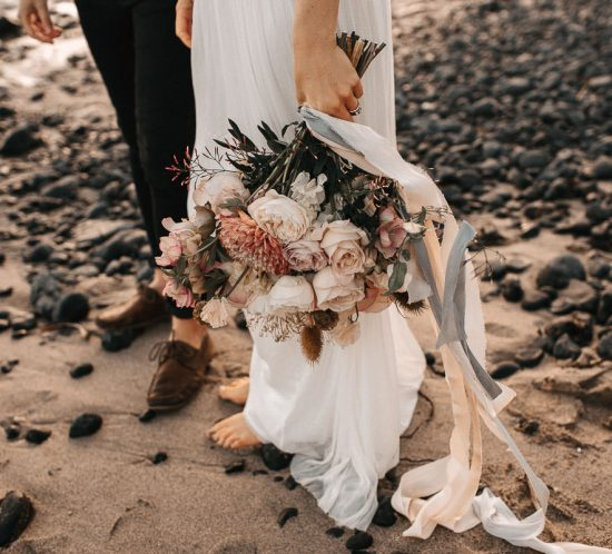 Sustainable wedding florals