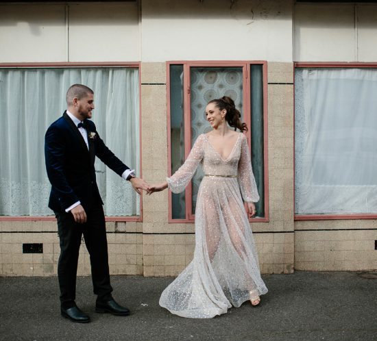 Real Wedding – Ben & Hannah, Fitzroy VIC