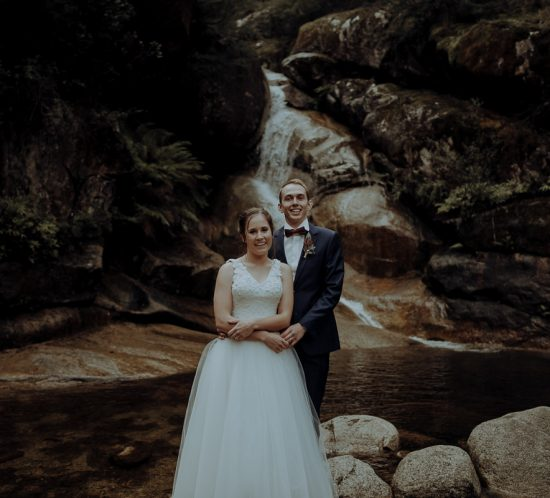 Real Wedding – Stephanie & Jarrod, Buckland Valley VIC