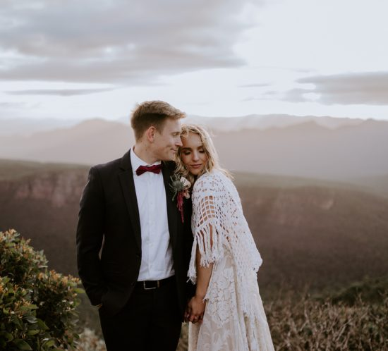 Elopement elegance in the Grampians