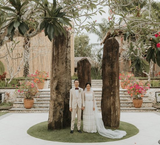 Real Wedding – Calista & Christopher, Bali Indonesia