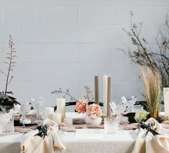 A conscious styled shoot