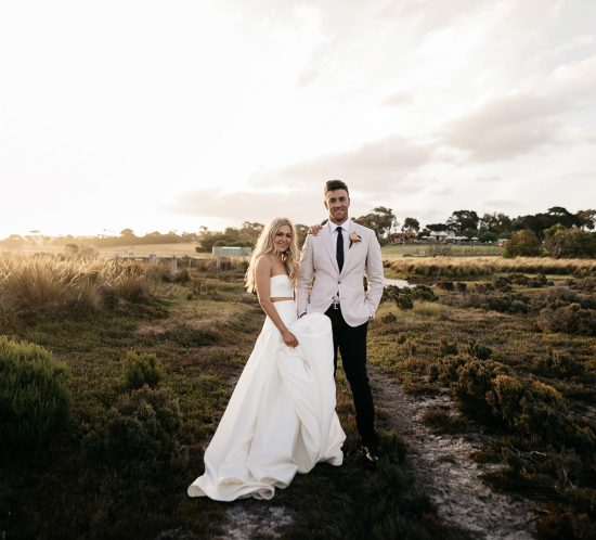 Real Wedding – Samantha and Damien, Swan Bay VIC