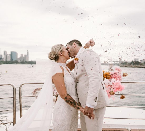 Real Wedding – Daisy and Marc, Sydney Harbour NSW