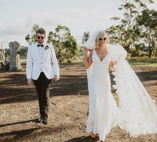 Real Wedding – Lizzy & Matt, Lancefield VIC