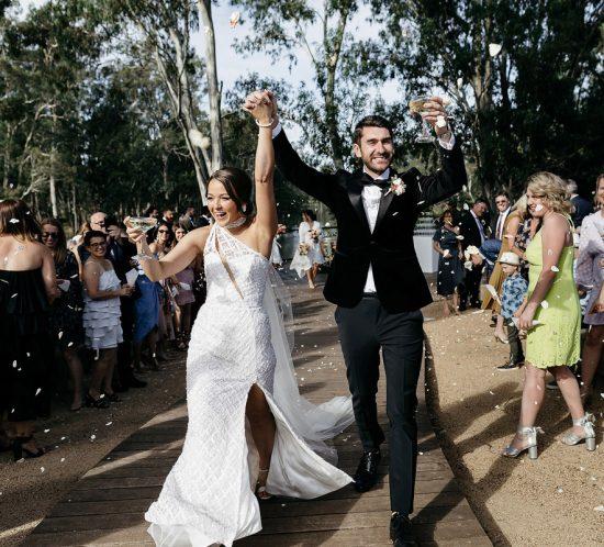 Real Wedding – Lauren and Chris, Nagambie VIC