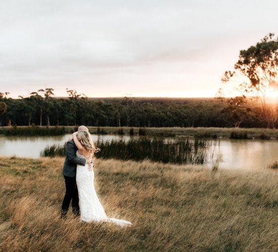 Real Wedding – Laura & Craig, Woodend VIC