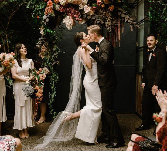 Real Wedding – Steph & Justin, Collingwood VIC
