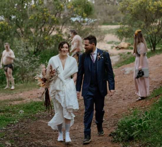 Real Wedding – Aaron & Casey, Koorawatha Falls NSW
