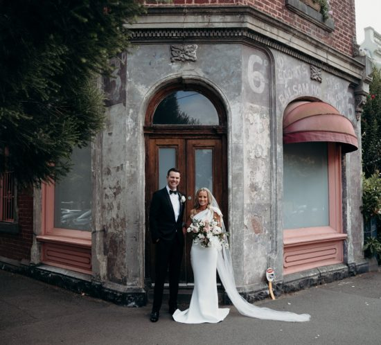Real Wedding – Cortney & Andrew, South Melbourne VIC